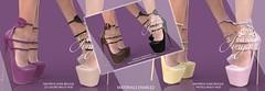 "Phedora for Fameshed X ~ ""Sonya"" Heels + GIVEAWAY!!!"
