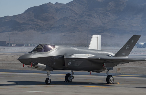 F-35 of the 422nd Test and Evaluation Squadron