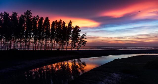Sunset at Cox's Bazar