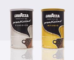 Lavazza Coffees on white