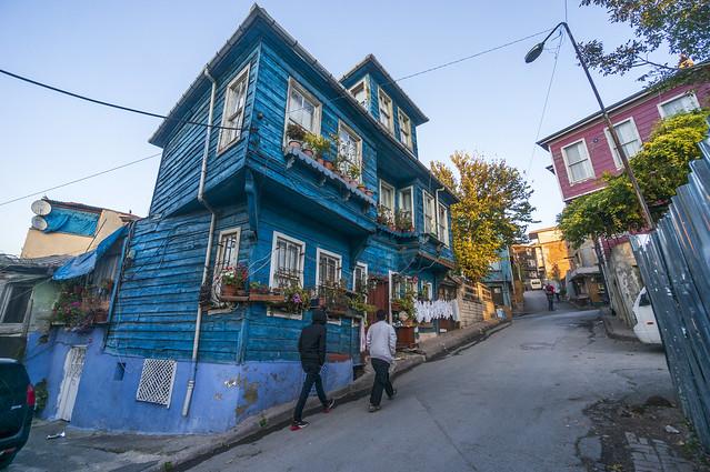 Süleymaniye sokakları/İstanbul