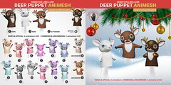 SEmotion Libellune Deer Puppet Animesh