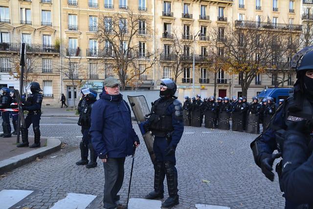 Manifestation du 10 décembre à Paris contre le projet de réforme des retraites
