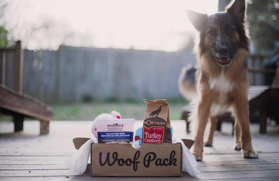 WoofPack subscription box