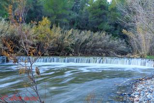 Riu Siurana la presa a la tardor