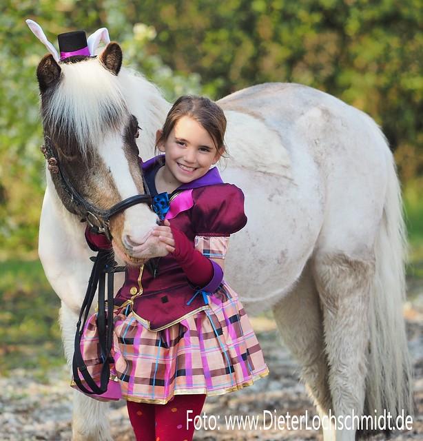 Pferdefotografen-Tag in der Nähe von Worms, 2019