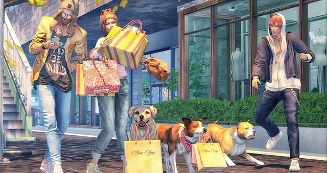 I don' like shopping 😅.