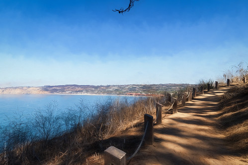 2019 california lajolla october water pacific trail blue ocean sky