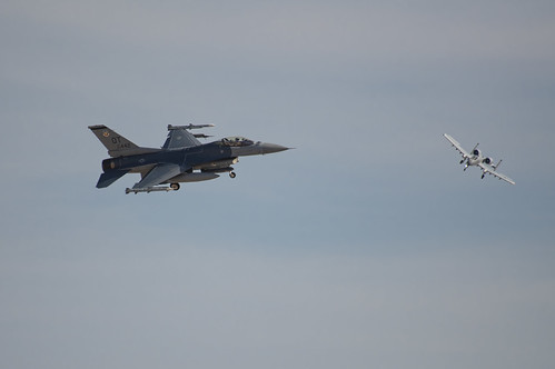 Viper and Warthog Banking for Landing