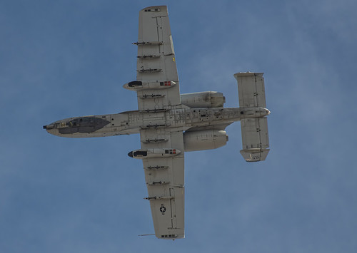 Underside of the A-10 Warthog