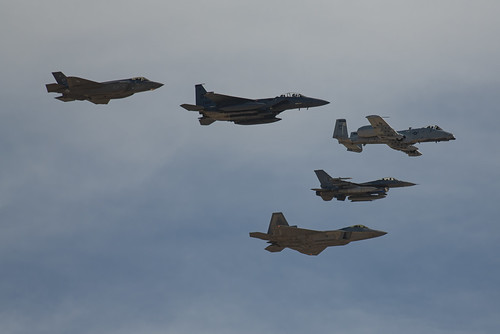 Awesome 5 Plane Formation