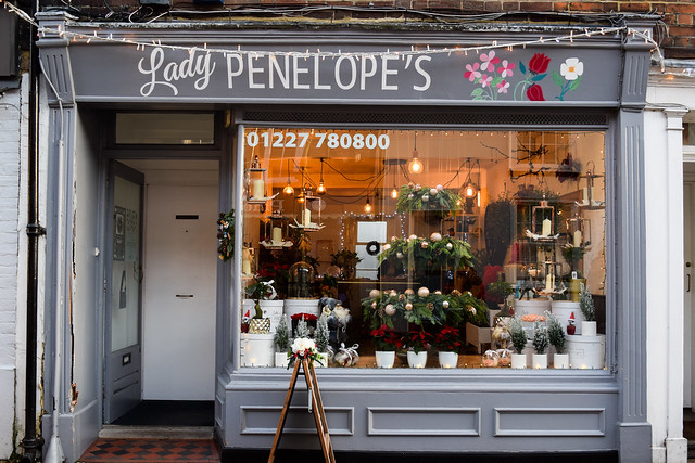 Lady Penelope's Canterbury Christmas Window 2019
