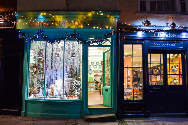 Canterbury Pottery Canterbury Christmas Window 2019