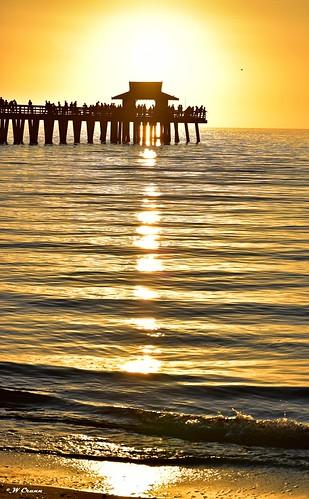 sunset naplespier naplesbeach d5500