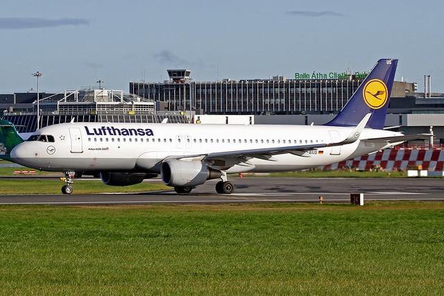 Lufthansa Airbus A320-214 D-AIUS DUB 20-10-19