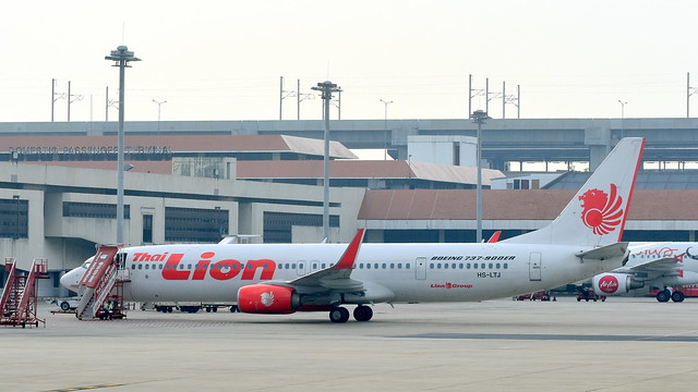 Boeing 737-9GPER c/n 39823 Thai Lion Air registration HS-LTJ