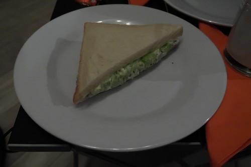 Gurken-Ei-Sandwich (meine Hälfte)