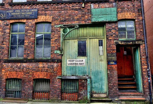 Albert Jones in Manchester
