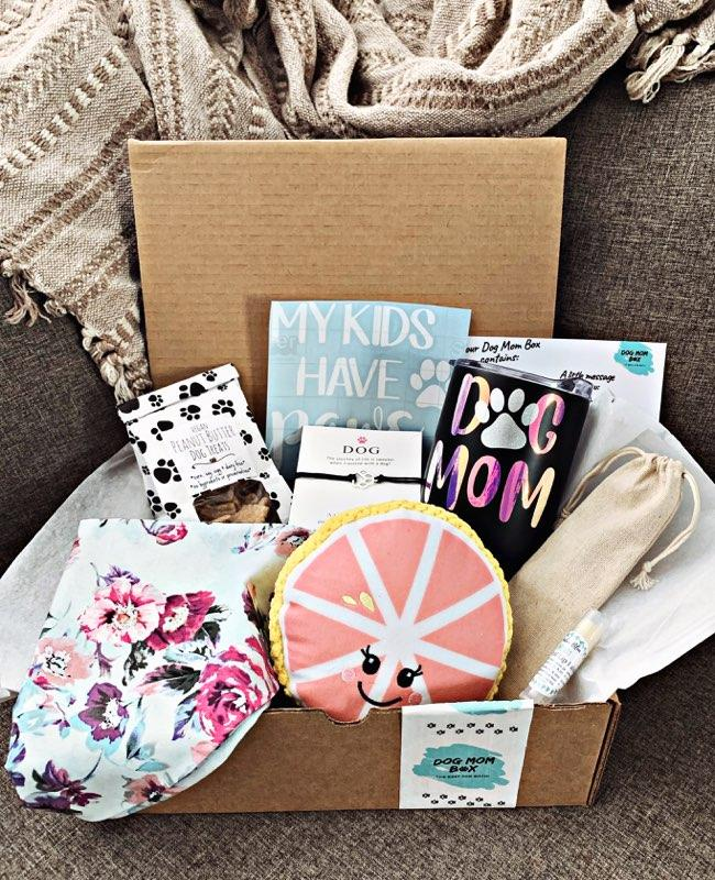 Dog Mom Box subscription box