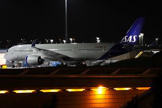 SAS Airbus A350-941 SE-RSA ARN 191210