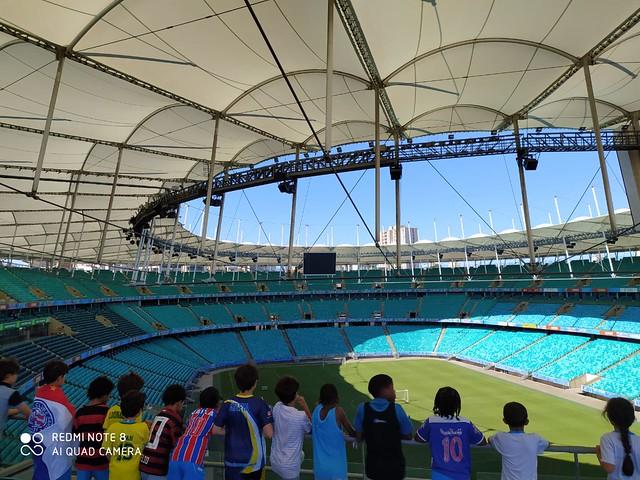 Turno Integral na Arena Fonte Nova