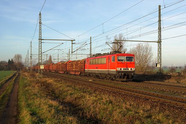155 046 Erfurter Bahnservice Gesellschaft mbH | Dreileben-Drackenstedt | Dezember 2019