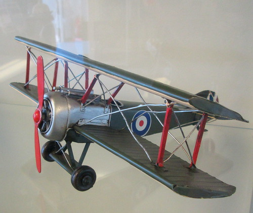 Model of a Sopwith Camel
