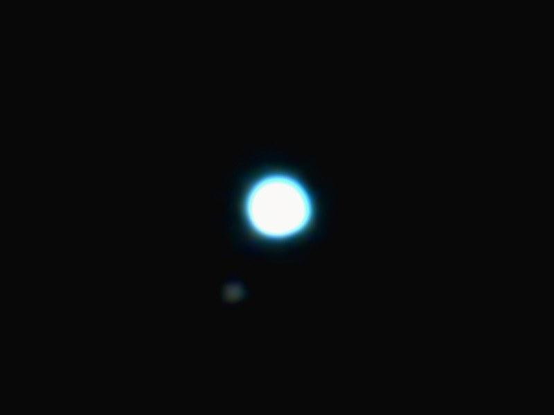 海王星とトリトン (2019/11/6 20:54)