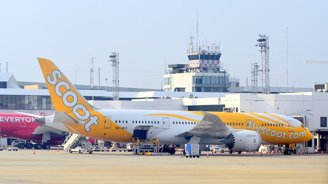 Boeing 787-8 c/n 37122 Scoot registration 9V-OFE