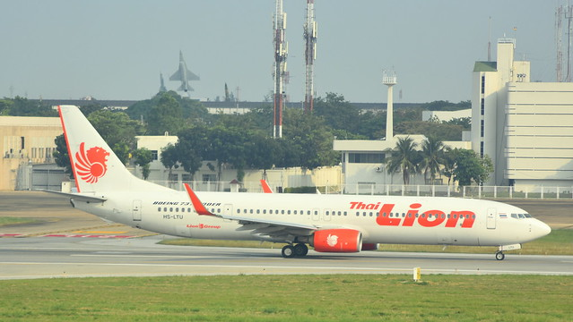 Boeing 737-9GPER c/n 39841 Thai Lion Air registration HS-LTU