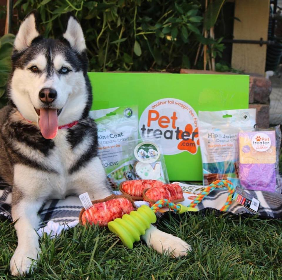Pet Treater subscription box