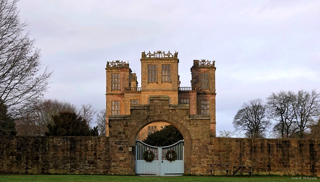 [NT] Hardwick Hall. Autumn Glow. Dec 2019