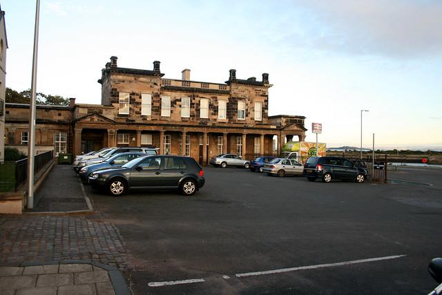 Burntisland Railway station