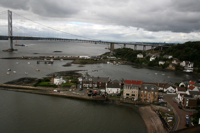 View from the Forth Bridge, North Queensferry
