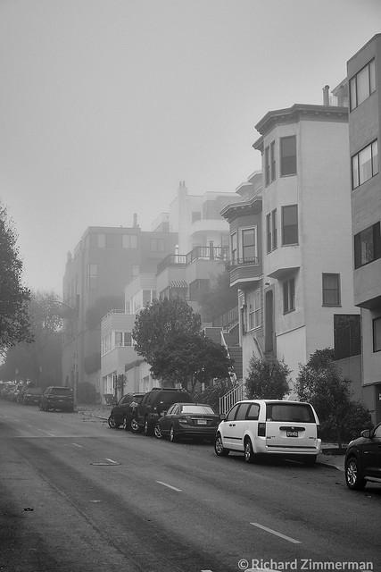 Misty Morning in San Francisco