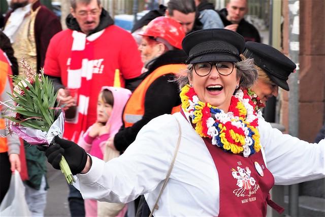Karneval in Mainz am Rhein – Rosenmontags Umzug 2019