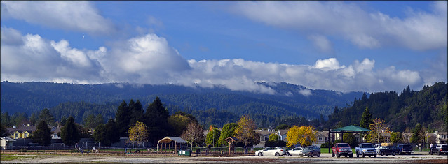 Ben Lomond Mountain from Scotts Valley
