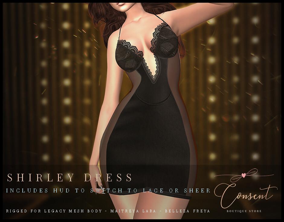 [ CONSENT – Shirley Dress