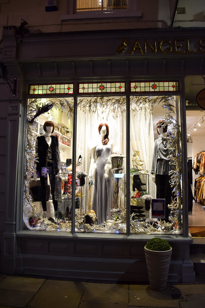 Angel's Canterbury Christmas Window 2019