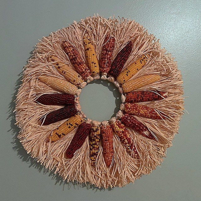 Corn & Husk Wreath