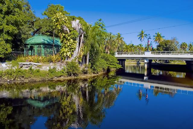City of Bonita Springs, Imperial River, Lee County, Florida, USA