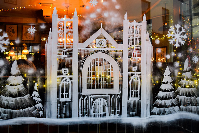 Deakins Cathedral Canterbury Christmas Window 2019
