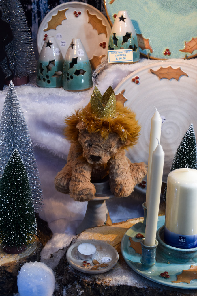 Canterbury Pottery Narnia Canterbury Christmas Window 2019