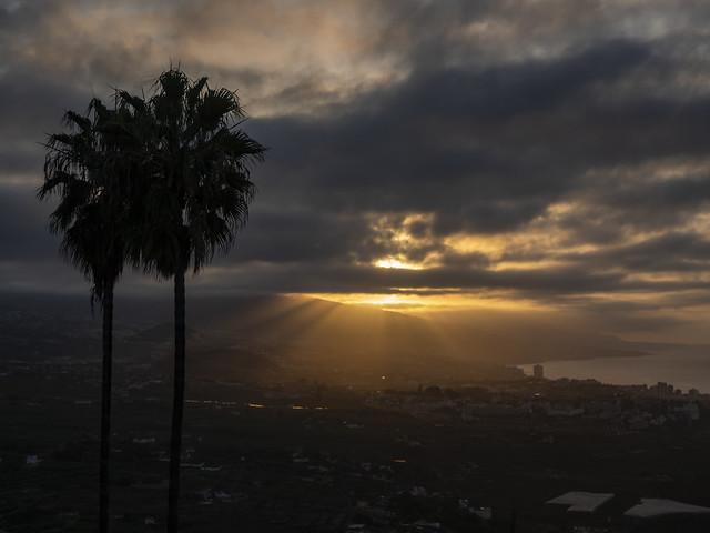 Puesta de sol desde Santa Úrsula