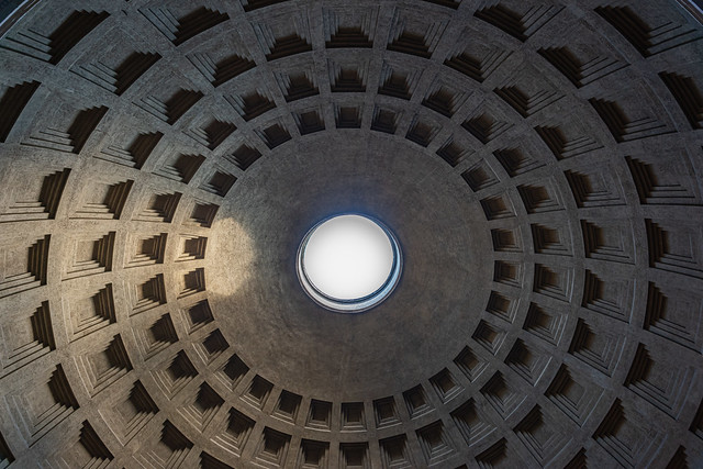 The Pantheon Dome, Rome