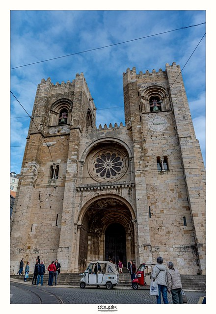 The cathedral in Lisbon