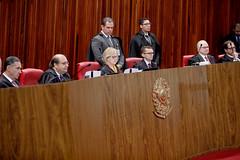 Sessão Plenária do TSE, presidida pela Ministra Rosa Weber, em 10.12.2019.