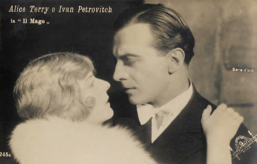 Alice Terry and Ivan Petrovich in The Magician (1926)