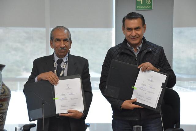 Firma de Convenio entre el Ayuntamiento de Tlajomulco y el INEGI