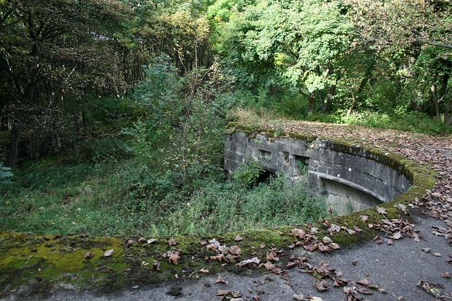 Old World War II defences, Braefoot